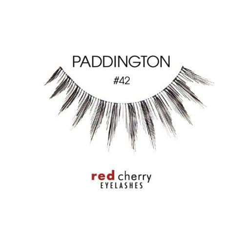 Red Cherry Lashes Style #42 (Paddington) 01