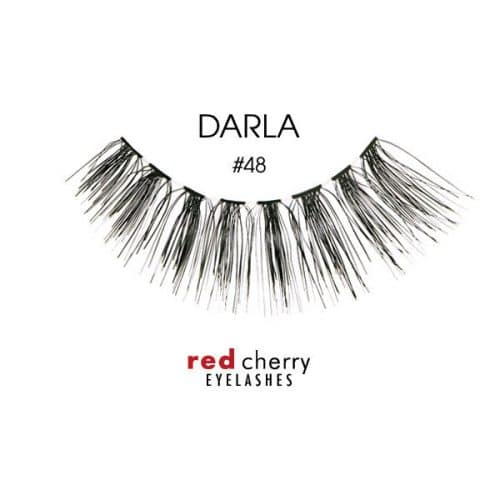 Red Cherry Lashes Style #48 (Darla) 01