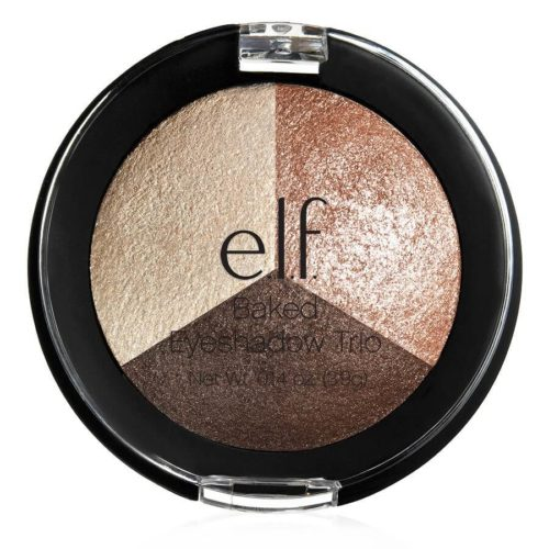 elf Baked Eyeshadow Trio Peach 1