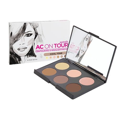 Australis - AC ON TOUR Cream Contouring And Highlighting Palette