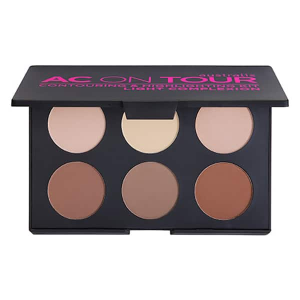 Australis - AC On TOUR Powder Contouring and Highlighting Palette