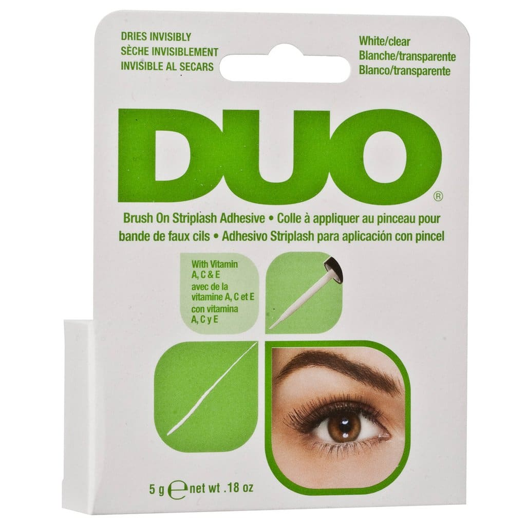 2e0e7eeee9d Duo - Brush On Striplash Adhesive White/Clear | Mask Line Cosmetics