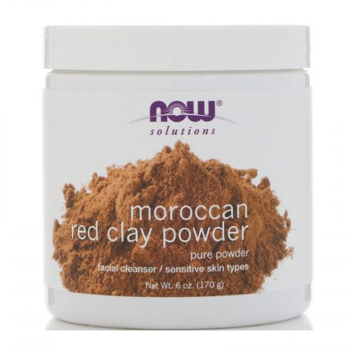 Now Foods, Solutions, Moroccan Red Clay Powder 1