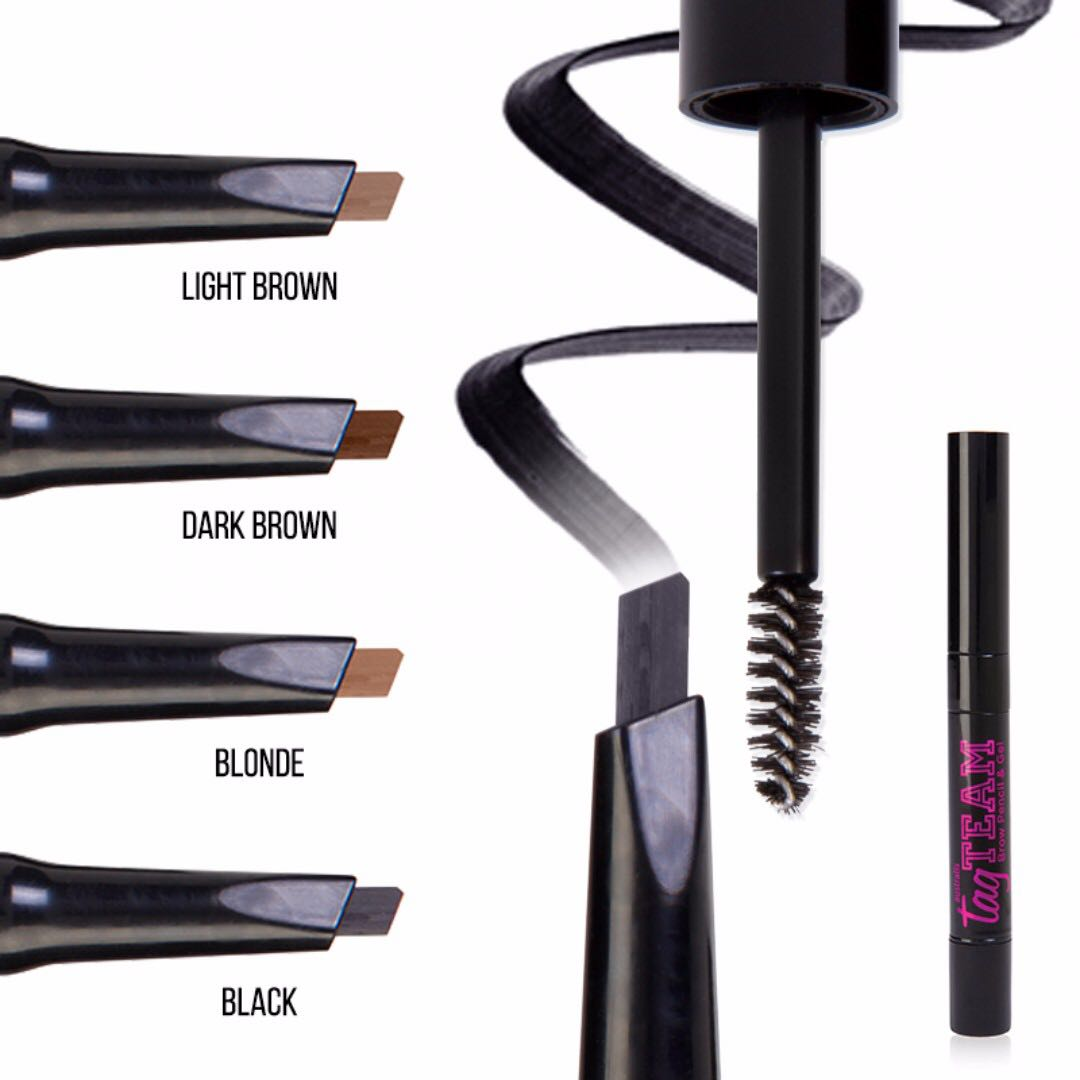 Australis Tag Team Brow Pencil And Gel Mask Line Cosmetics