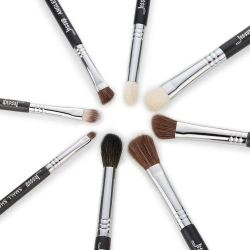 Jessup Pro Brushes Set Black Silver T091