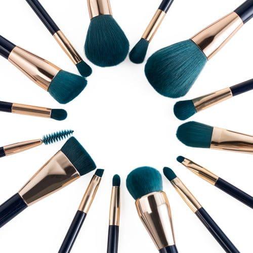 Jessup Colorful Brushes Set Blue / Dark-Green