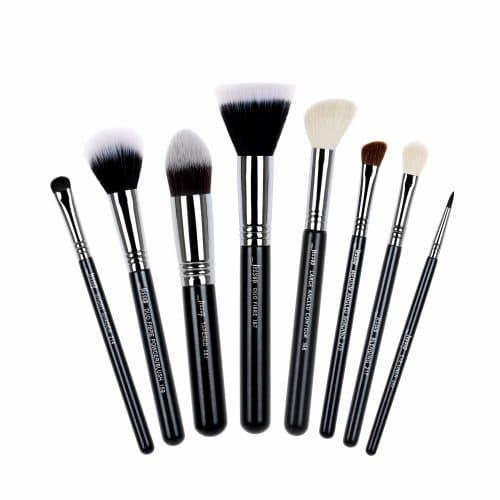 Jessup Pro Brushes Set Black Silver T120