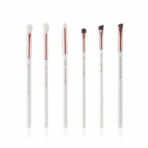 Jessup Individual Brushes Set White Rose gold T221