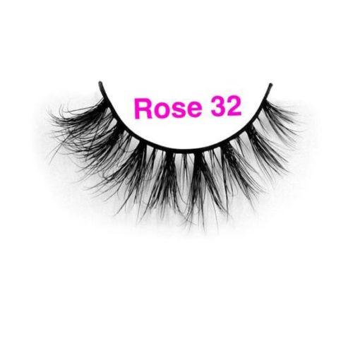Rose Lashes 32