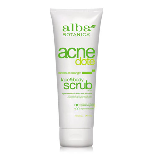 acnedote face body scrub