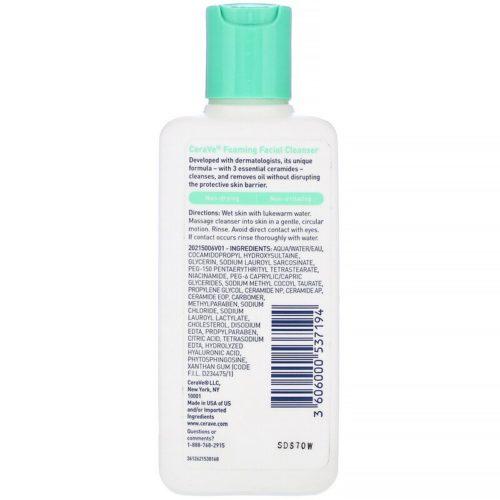 CeraVe, Foaming Facial Cleanser