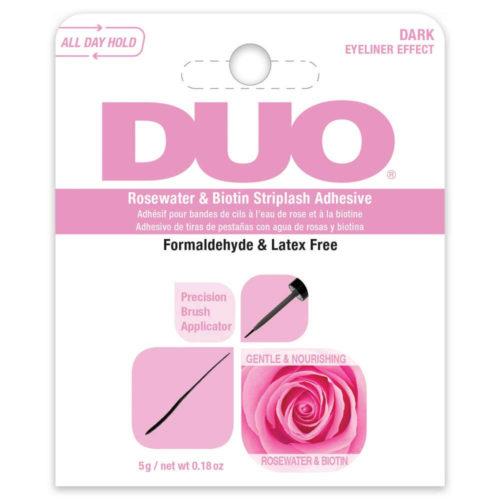 DUO, Rosewater & Biotin Striplash Adhesive, Dark