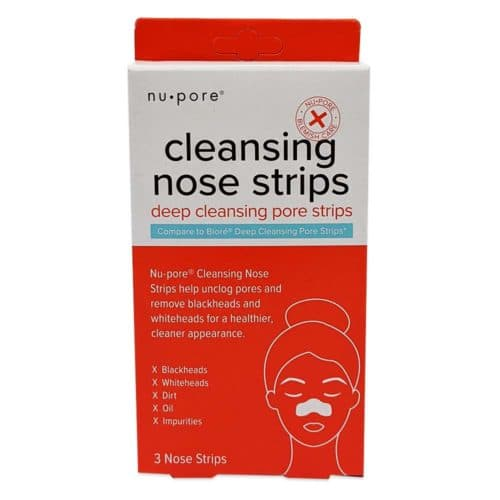 Nu-Pore, Nose Cleansing Strips, 3 Strips