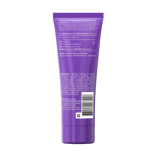 Aussie, Miracle Curls Frizz Free Curl Cream